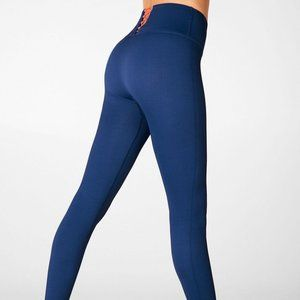 Fabletics High Waisted Seamless Rib Leggings S